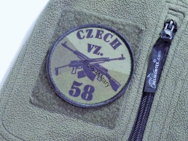 SA,VZ-58 Velcro Patch Military Green - Small