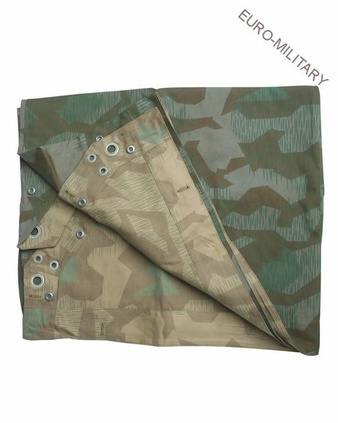 WW2 German Splinter Camo M34 Shelter Half