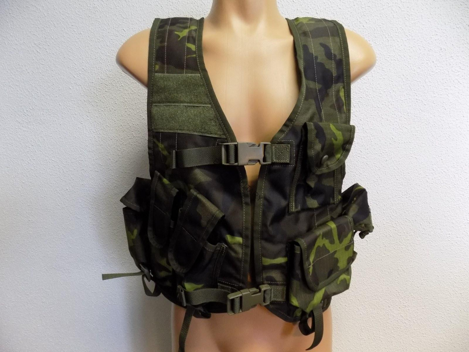 Czech Army Light Weight Battle Vest