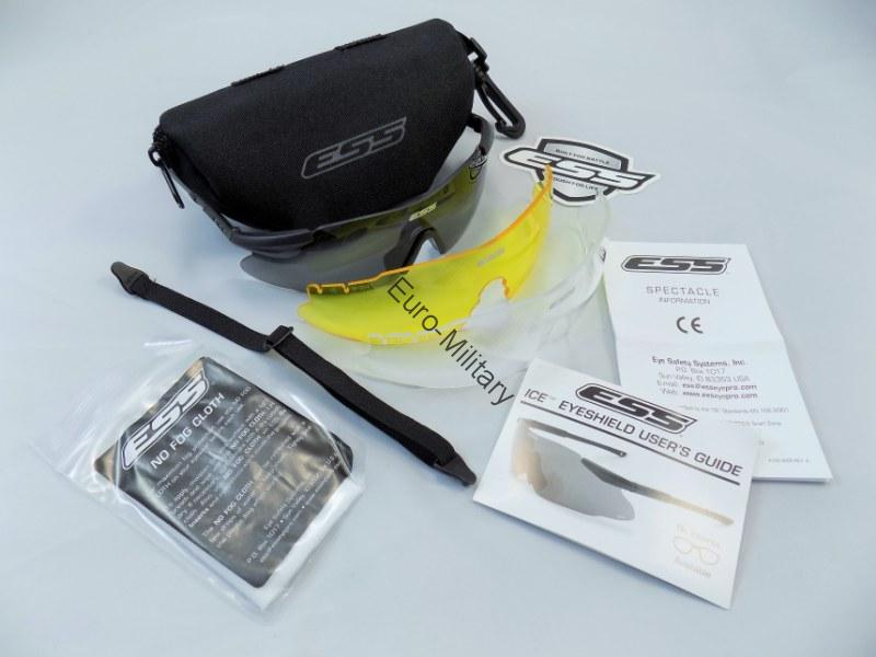 ESS® ICE 3LS Kit - Safety Shooting Glasses