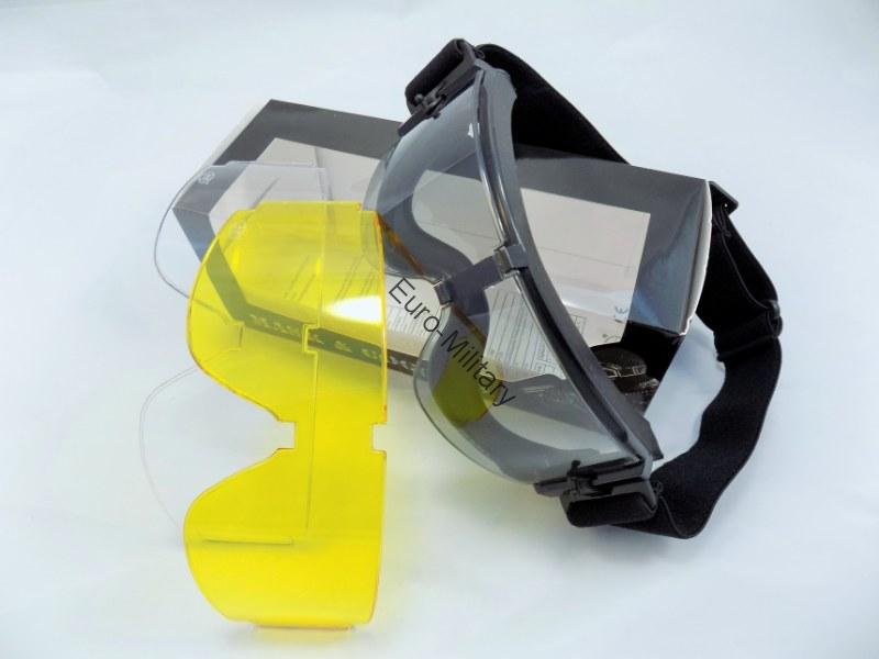 MFH® Tactical Safety Goggles GX-1000 3LS Black