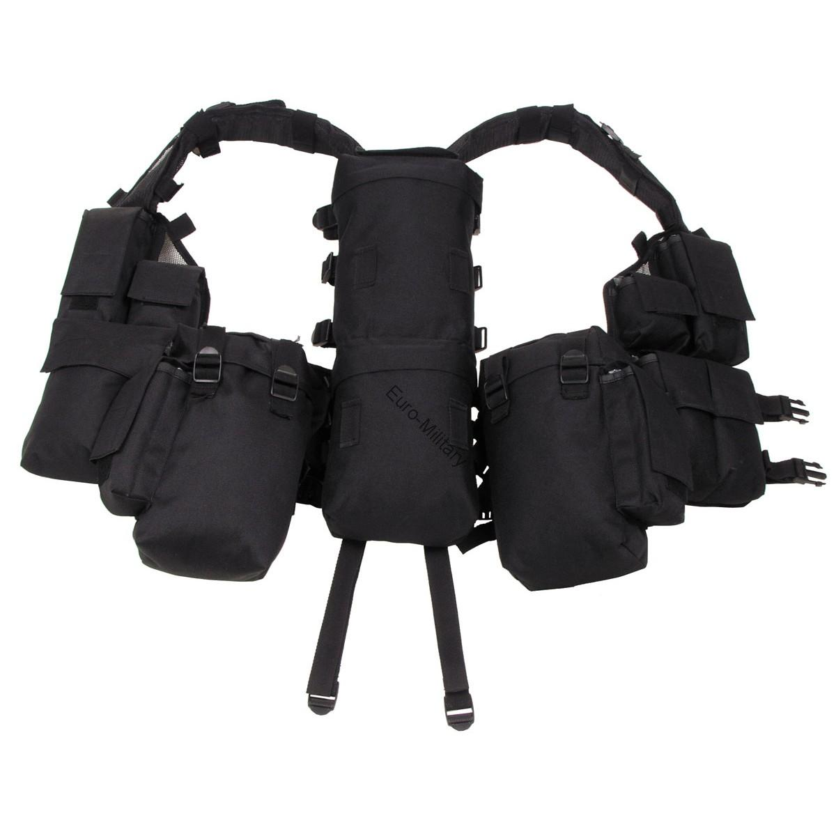 Military Spec Ops Tactical Police Vest with Various Pockets