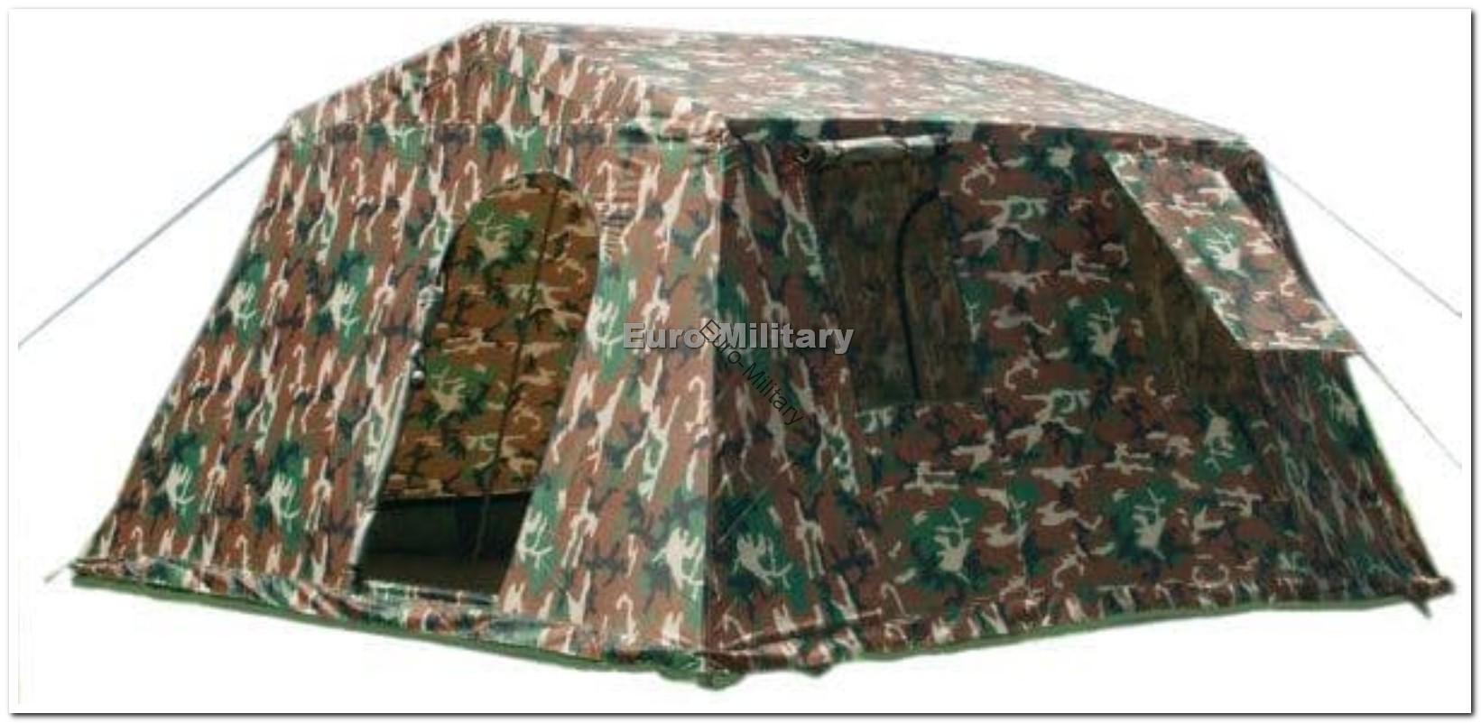 Military Army Outdoor Large BaseC& Tent Shelter 6 Person - Woodland & Tents u0026 Shelters | Military Army Outdoor Large BaseCamp Tent ...