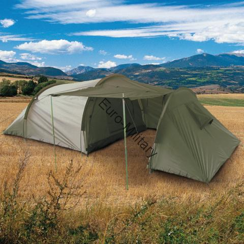 Army Outdoor Camping 3 Men Tent + Storage Space - OD Green