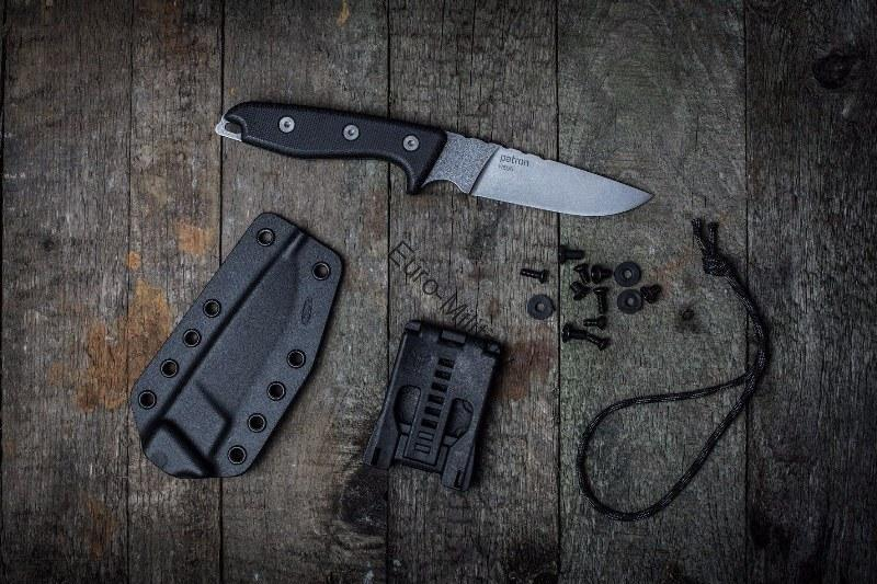 Military&Outdoor Professional Knife PATRON w/ Kydex Sheath