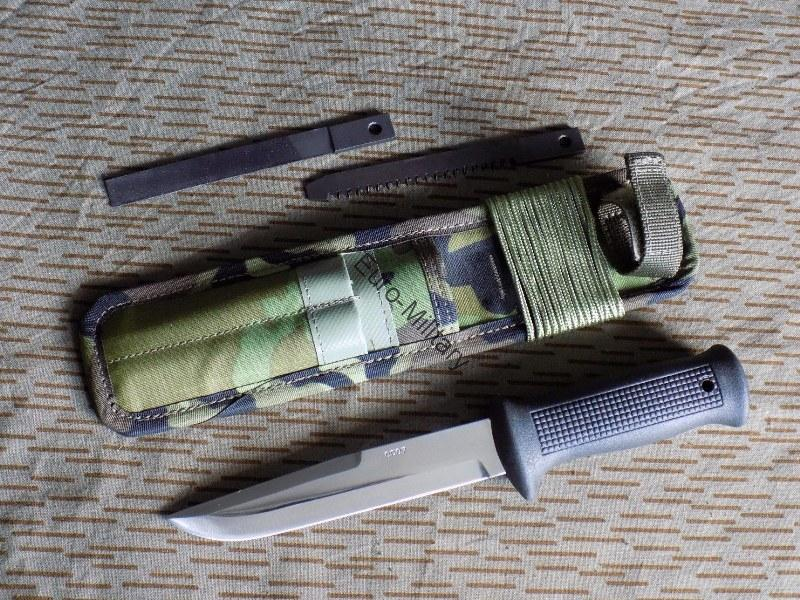 CZ Army Paratrooper Attack Knife UTON 75 M95 Camo Pattern - MIKOV