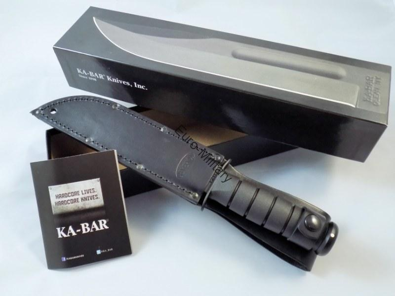 KA-BAR Fighting Utility Knife 1211 Full Size Black - USA