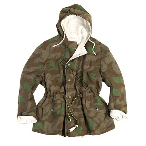 WW2 German Army WH Reversible Splintertarn & White Camo Jacket