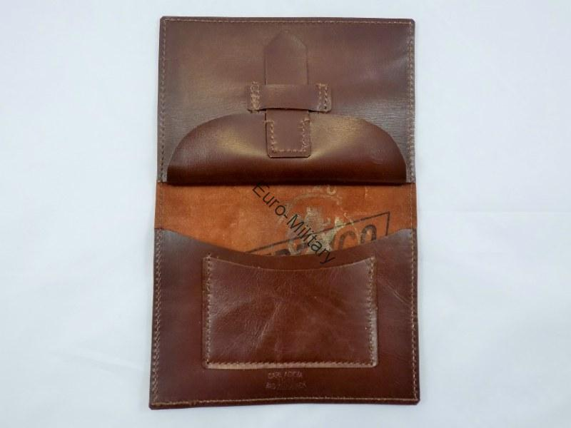 WW2 German Army High Quality HANDMADE Leather Personal Wallet - TOP Repro