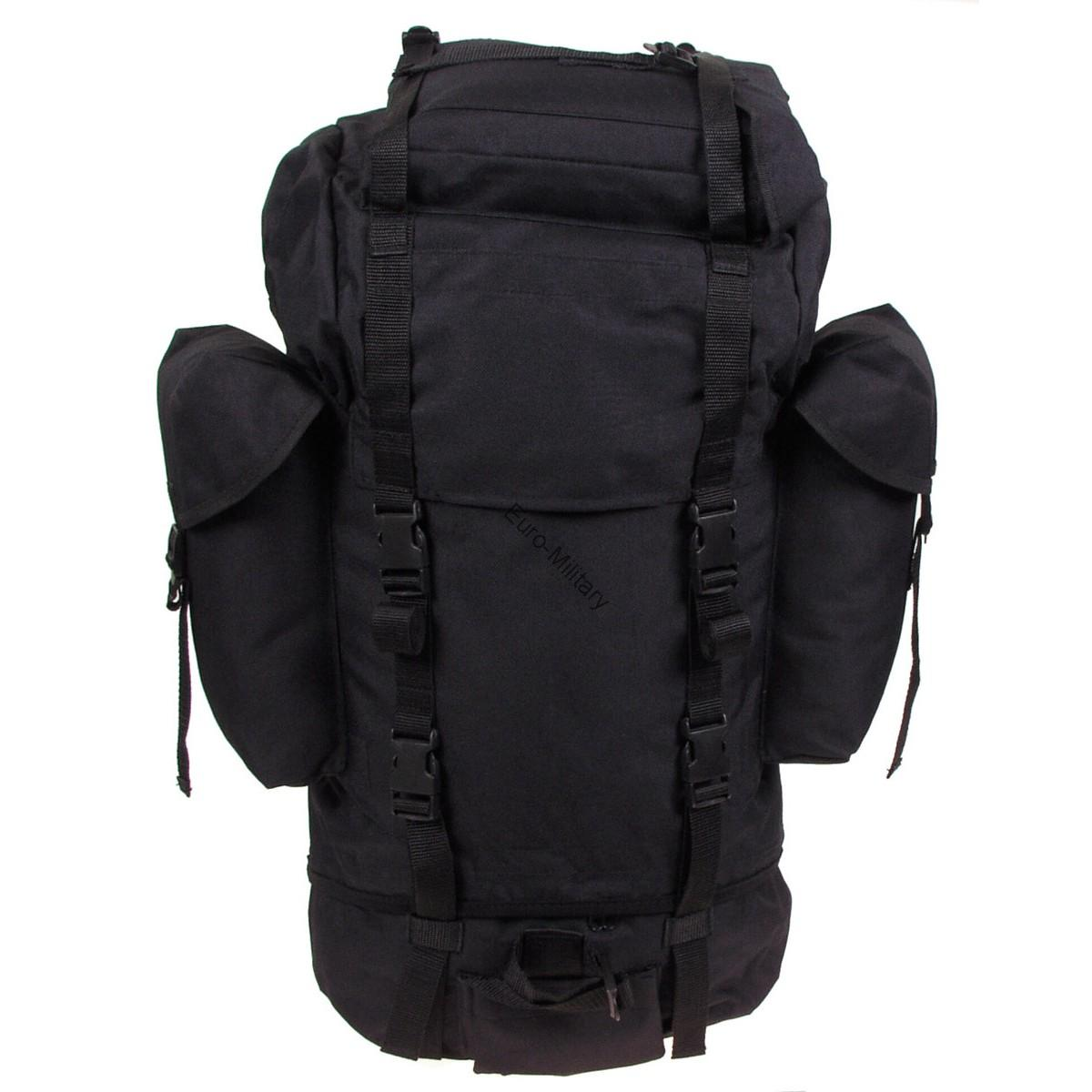 Military Patrol Expedition Backpack Large 65L - Black