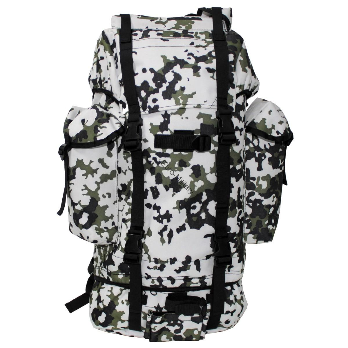 Military Patrol Expedition Backpack Large 65L - Winter Camo