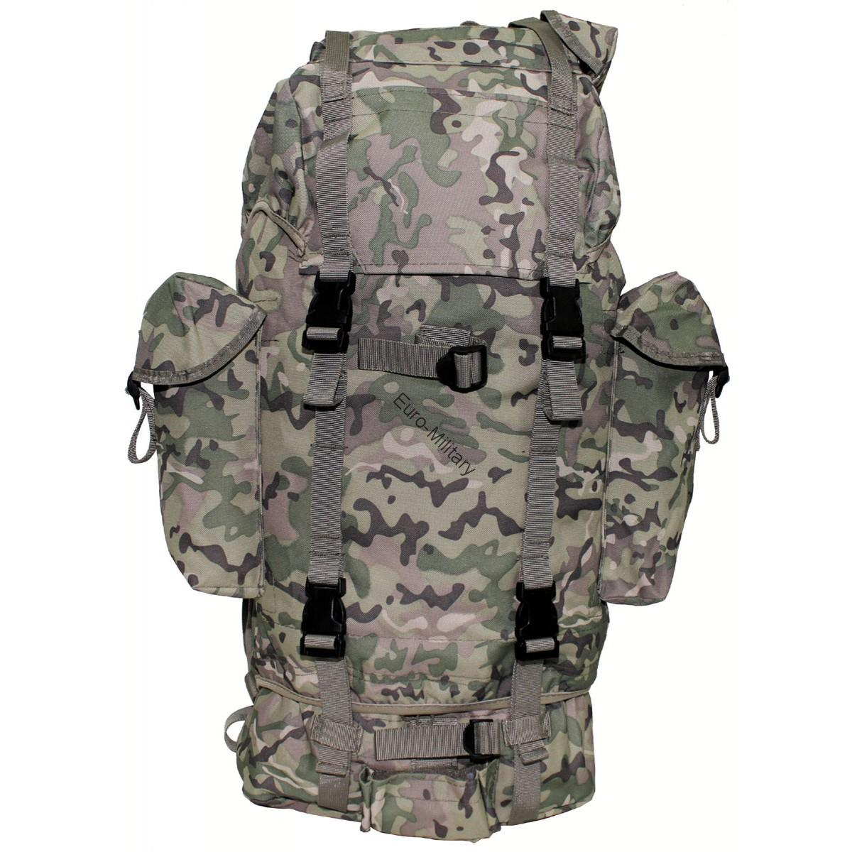 Military Patrol Expedition Backpack Large 65L - Multicam