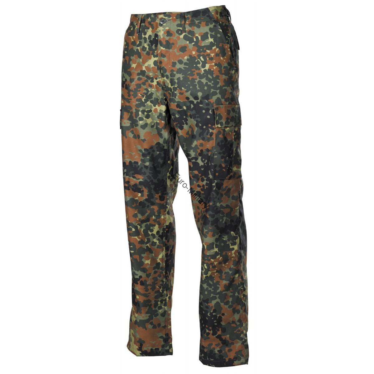 BW German Army Flectarn Camo Pattern BDU Field Pants
