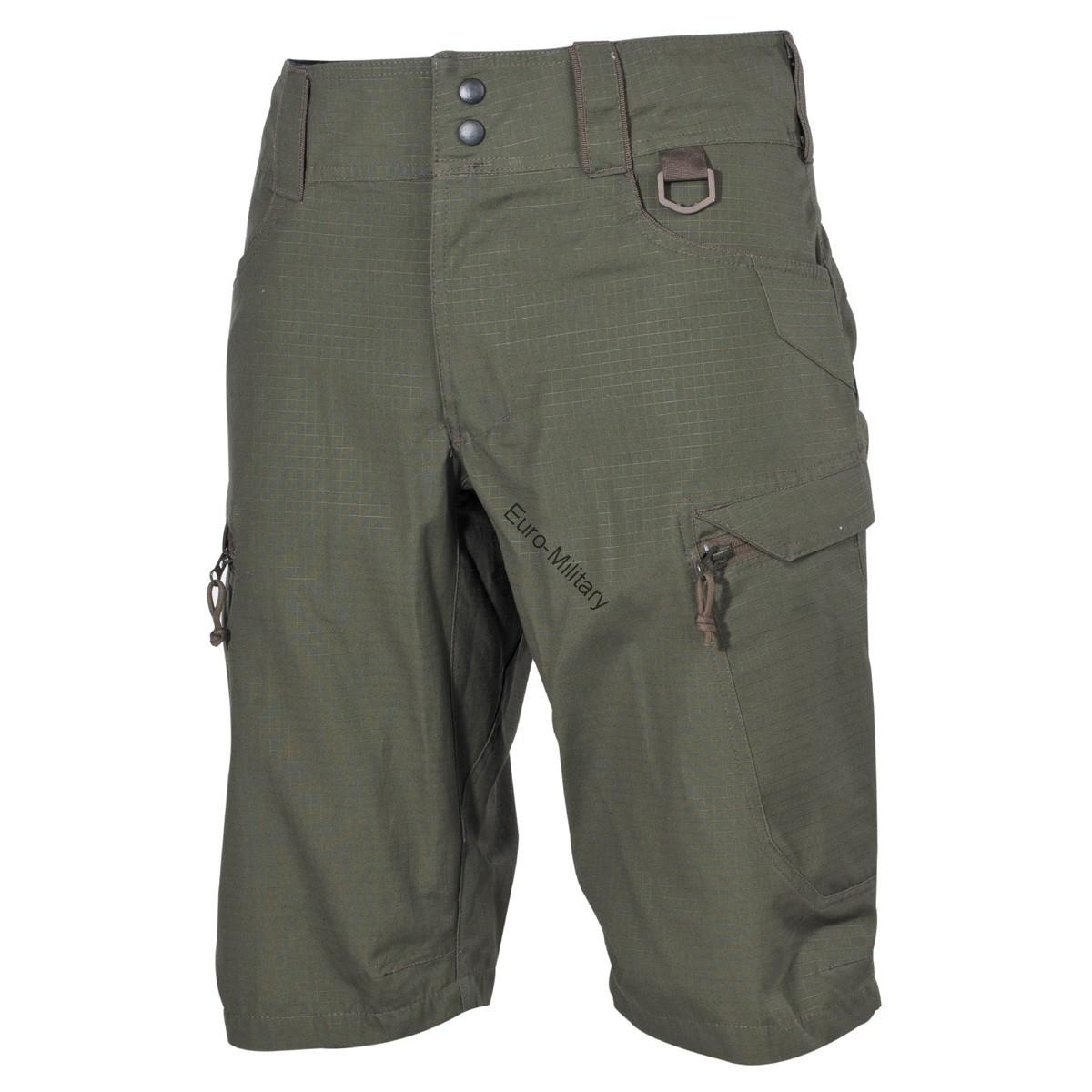 "Professional Tactical Military Battle Army Shorts ""Defense"" Rip Stop - OD Green"