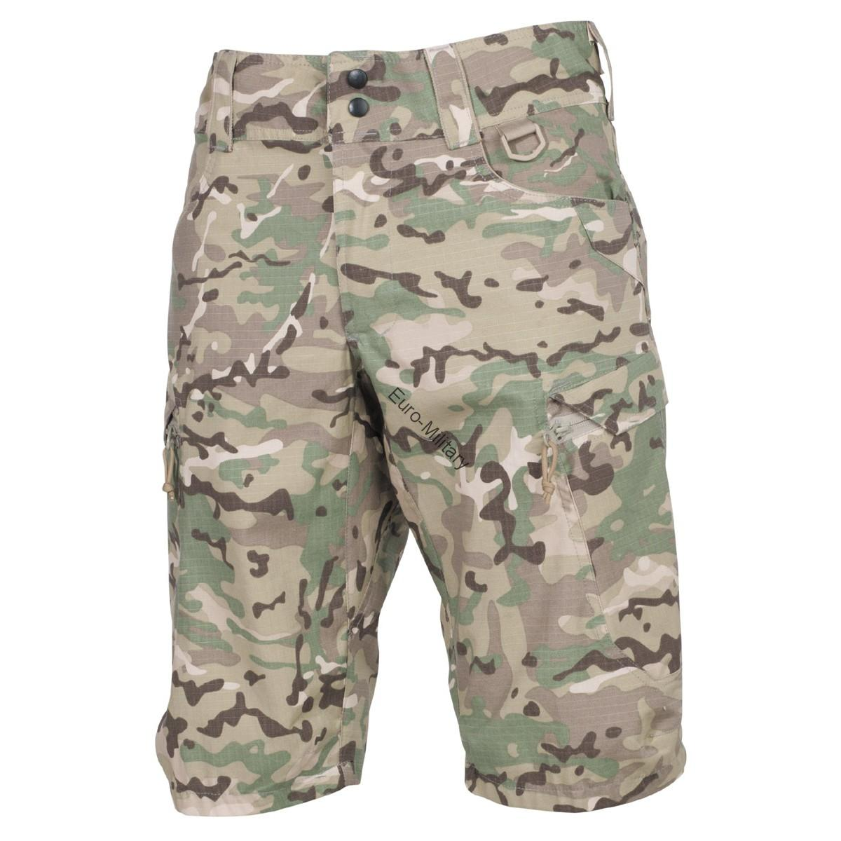 "Professional Tactical Military Battle Army Shorts ""Defense"" Rip Stop - Multicam"