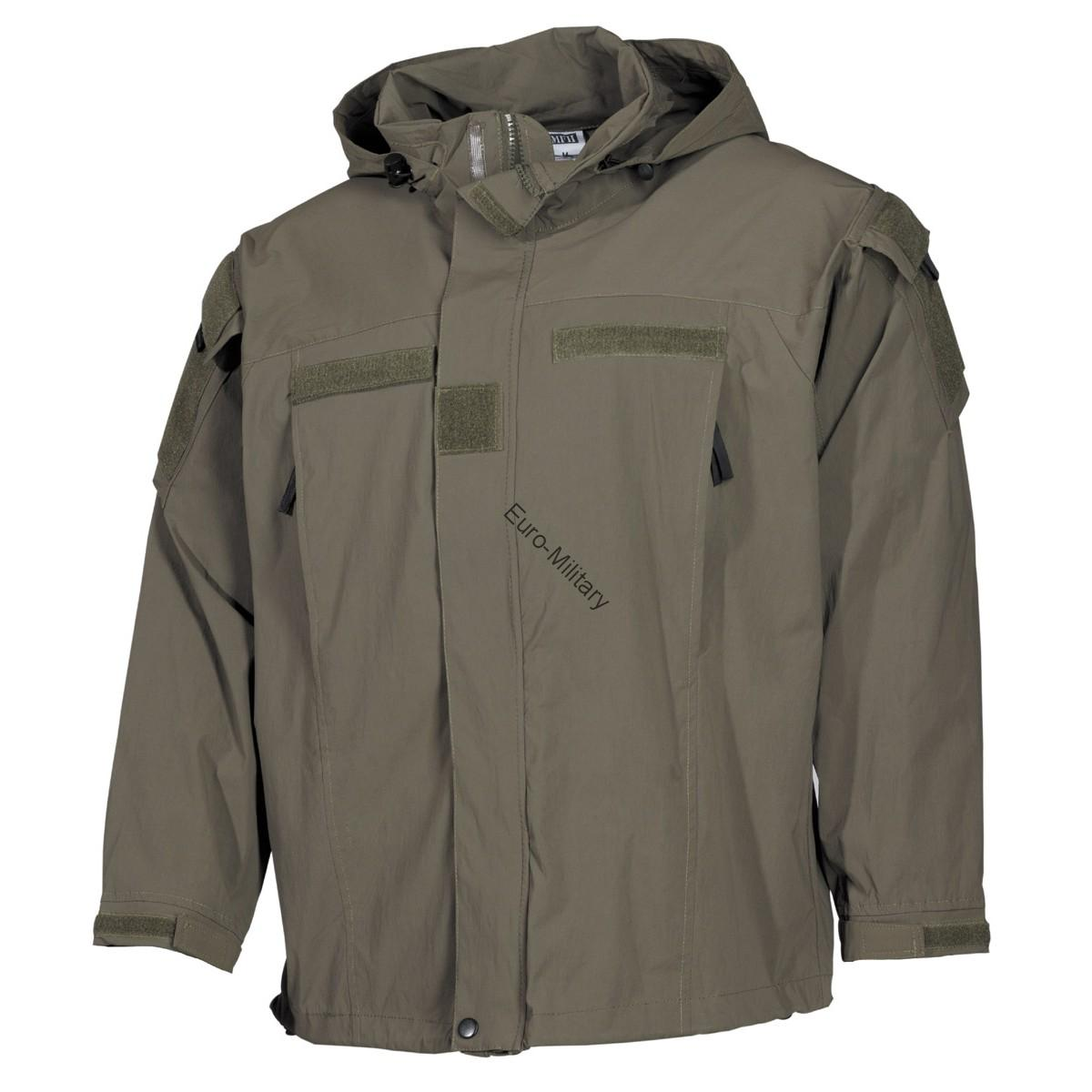 Tactical Military Soft Shell Waterproof Jacket GEN 3 - OD Green