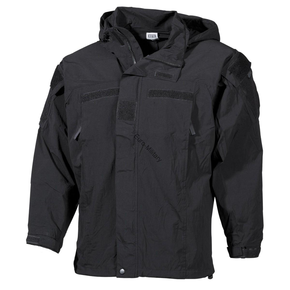 Tactical Military Soft Shell Waterproof Jacket GEN 3 - Black