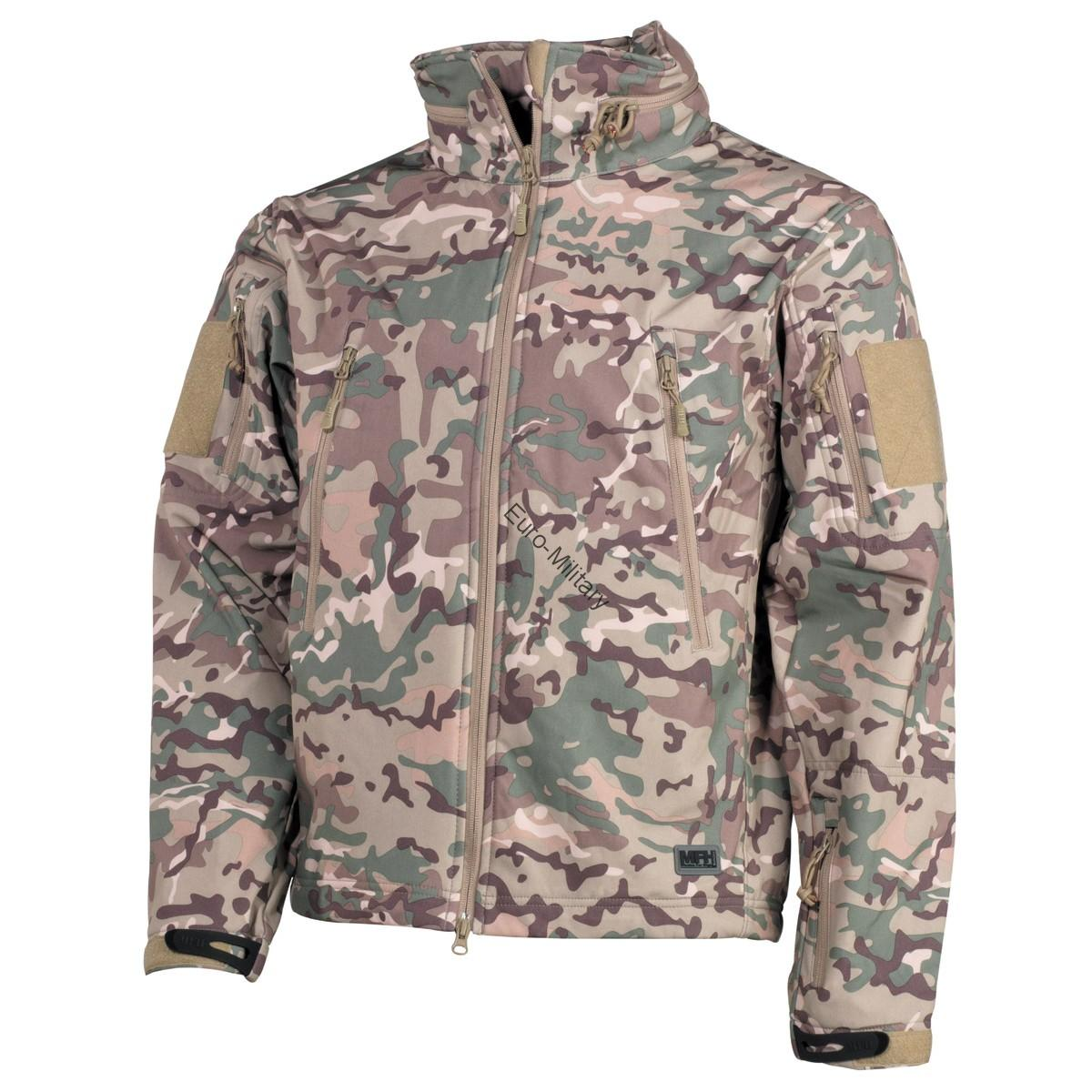 Premium High Defense Tactical Waterproof Soft Shell Jacket SCORPION - Multicam