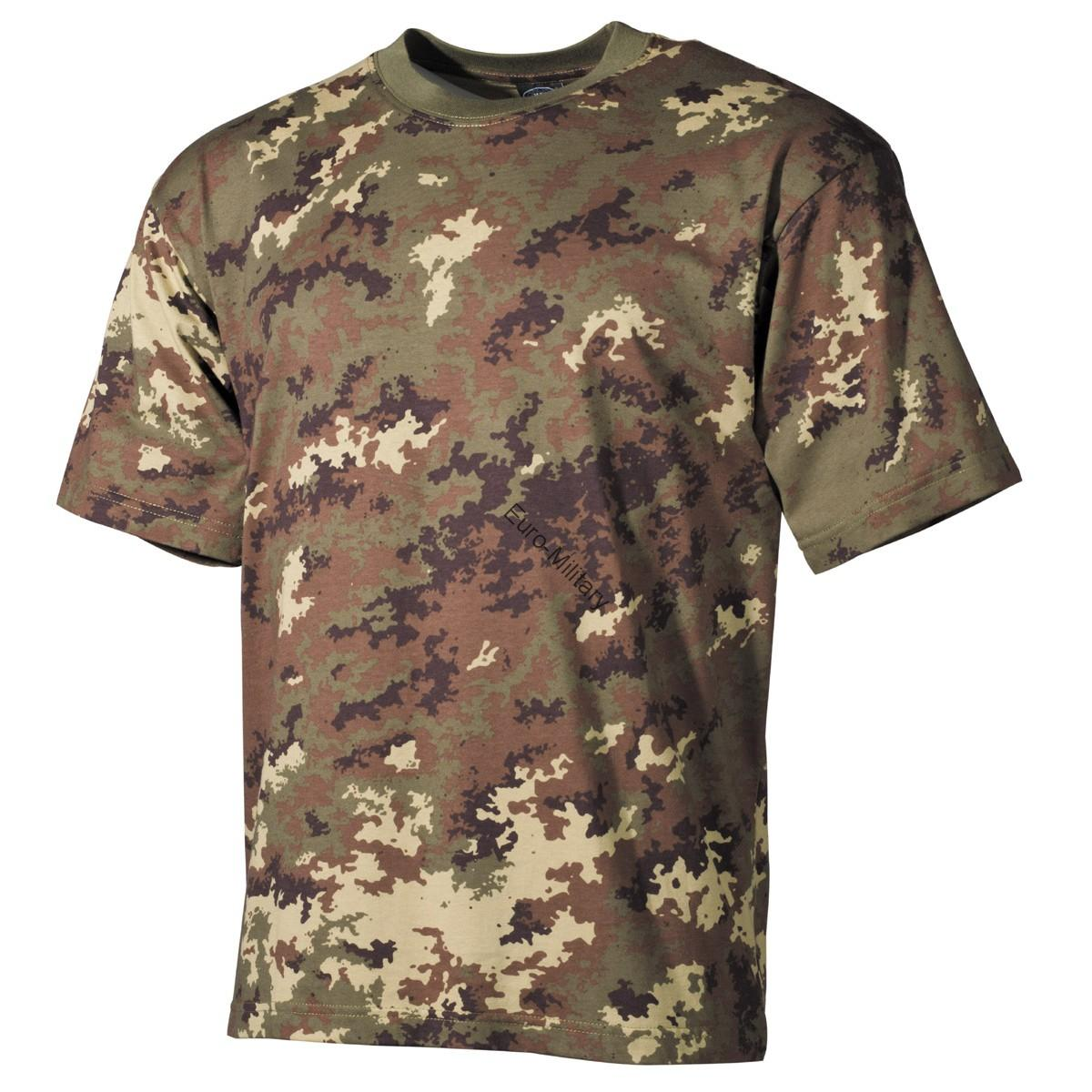 Vegetato Camo T-Shirt - Short Sleeve
