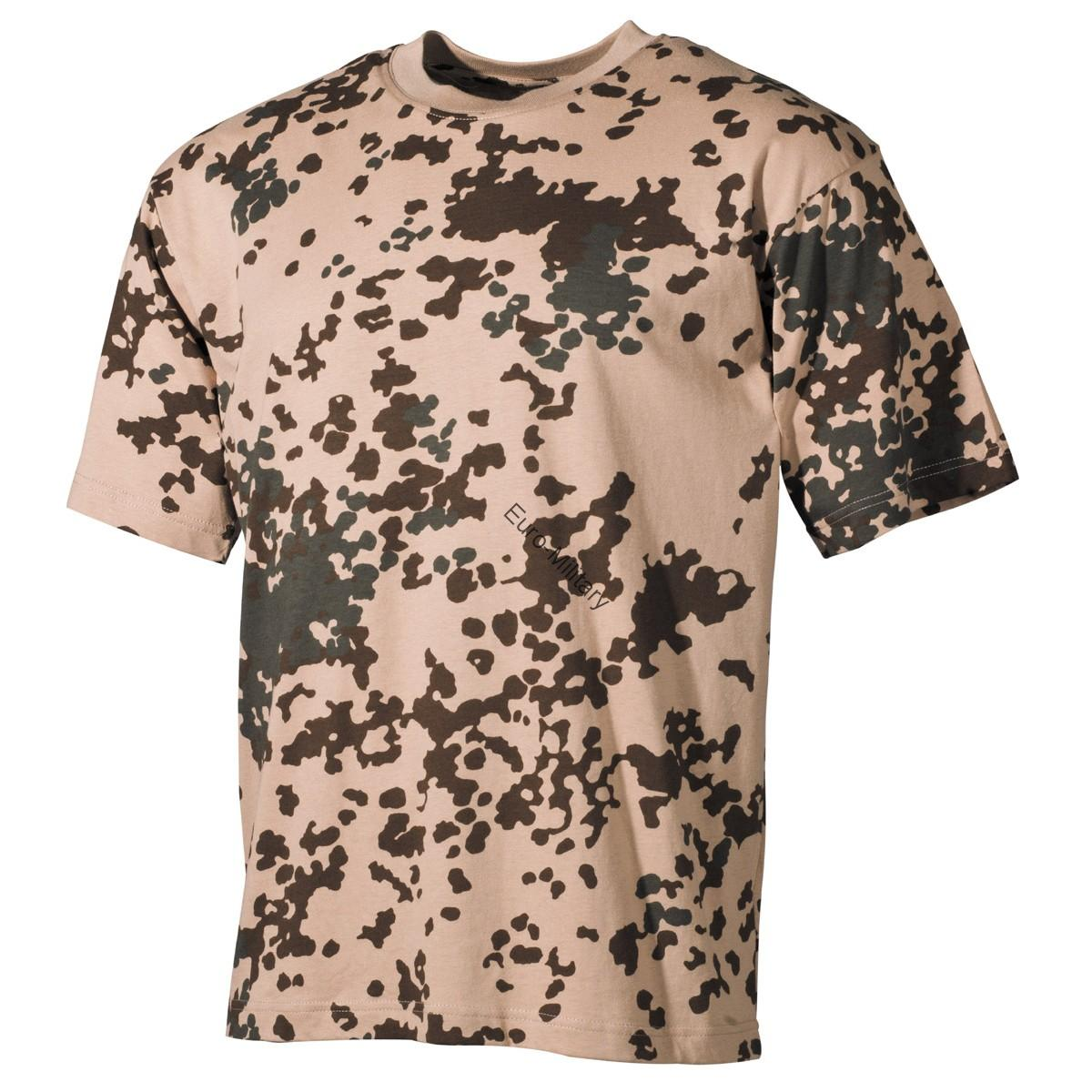BW Germam Army Tropico Camo T-Shirt - Short Sleeve