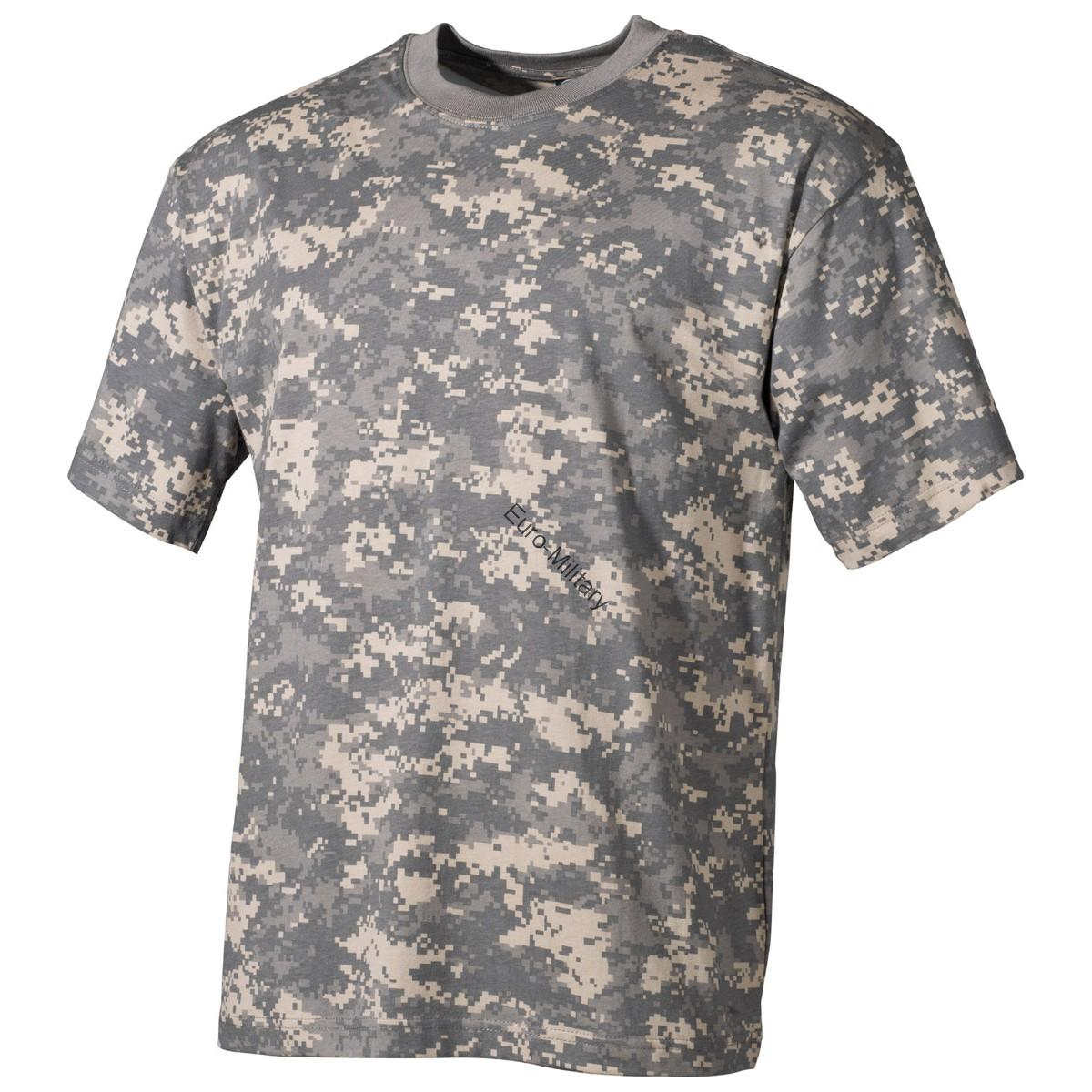 US Army Digital Camo T-Shirt - Short Sleeve