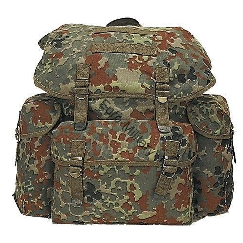 BW German Army Flectarn Camo Vintage Patrol Nato Backpack 25L
