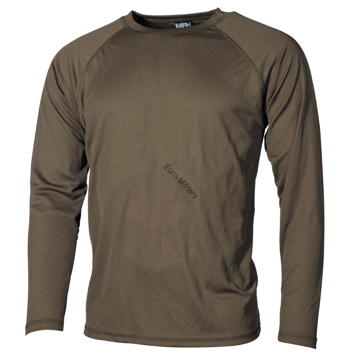 Military/Outdoor Undershirt Level 1 Gen.3 Lightweight and Quick Drying - Green