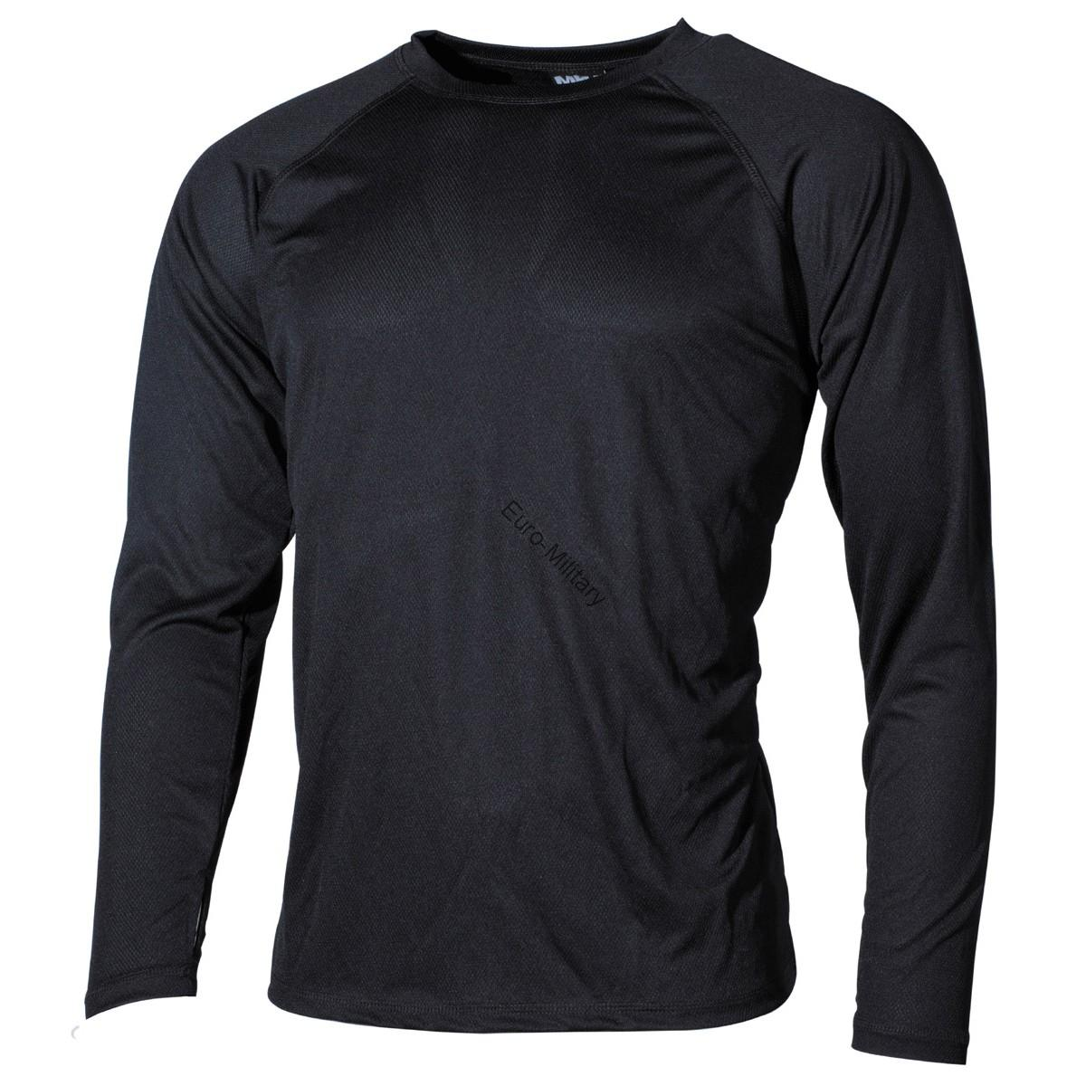 Military/Outdoor Undershirt Level 1 Gen.3 Lightweight and Quick Drying - Black