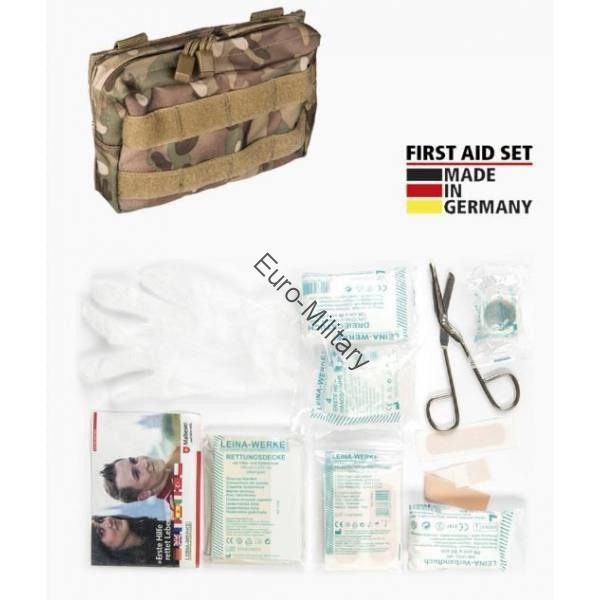 LEINA® Tactical Military First Aid Kit 25 pcs Professional Set - Multicam