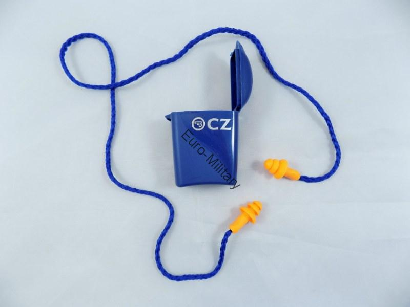 CZUB Shooting EarPlugs w/ CZ Logo