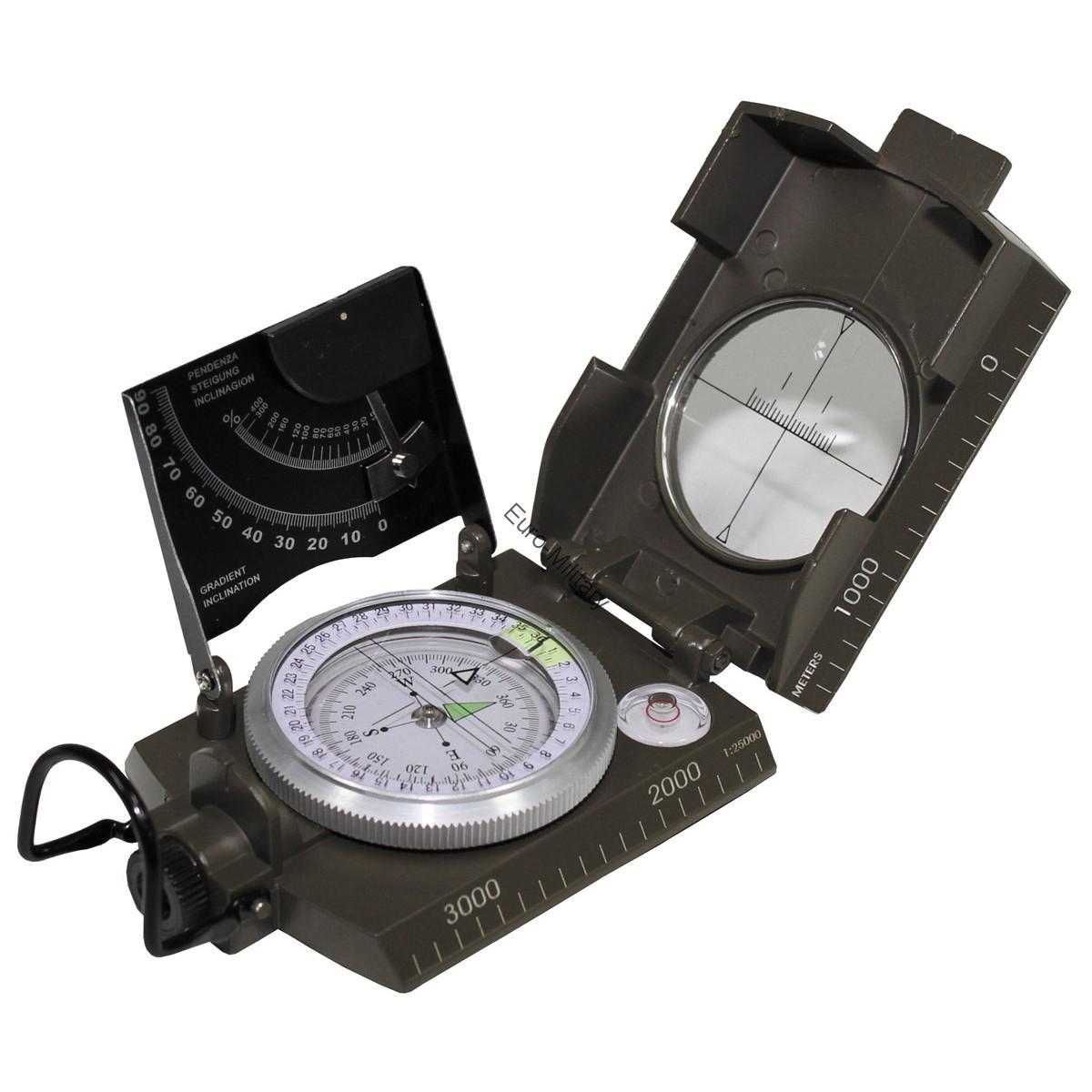 Professional Italy Army Compass Metal Body - Liquid Cushioned