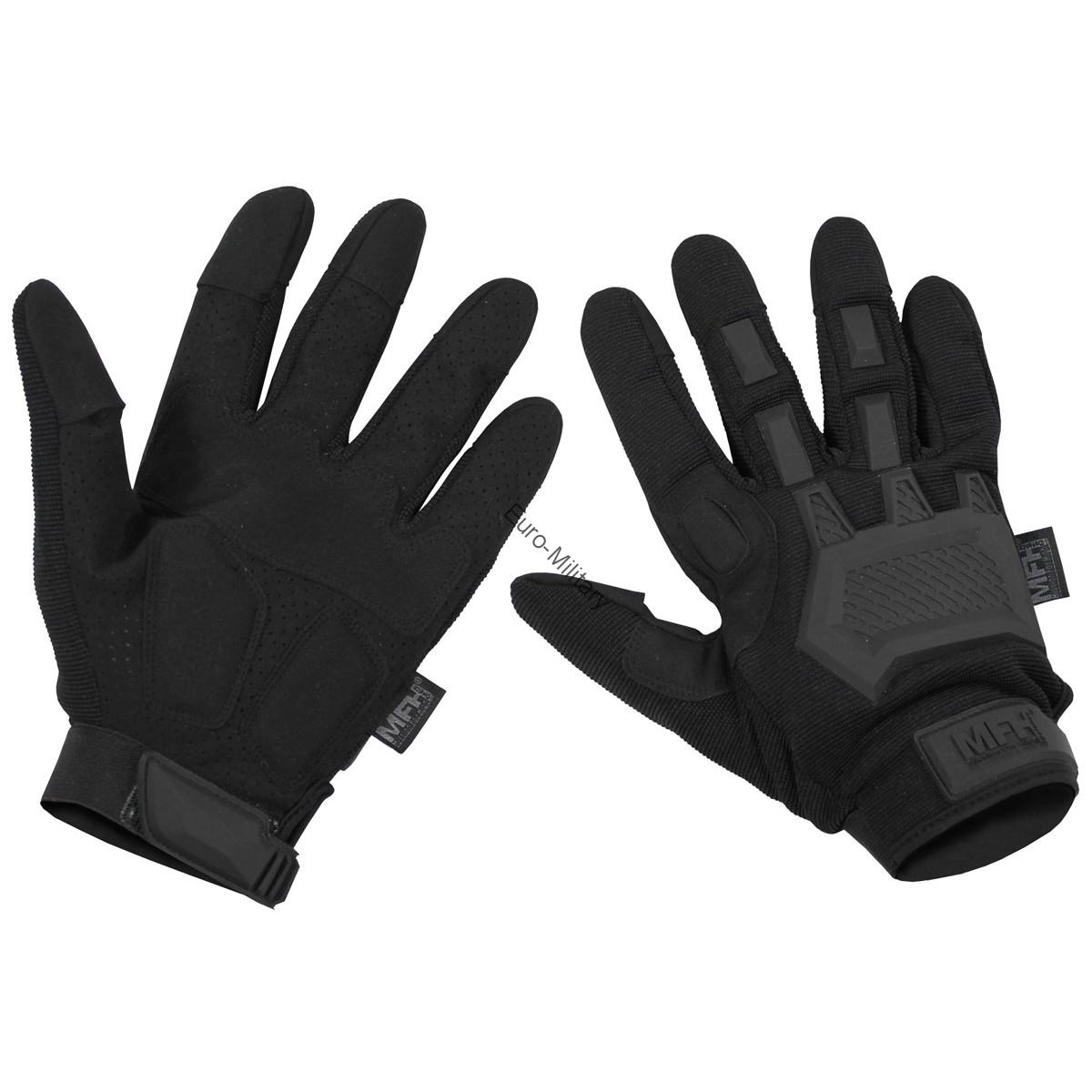 Tactical Military Shooting Profi Gloves - Black