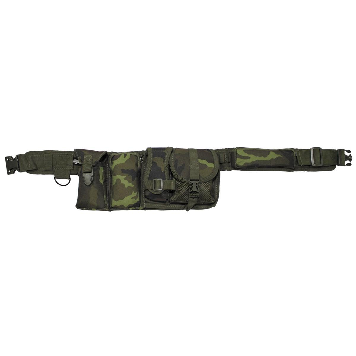 CZ M95 Camo Pattern Battle 6 Pocket Waist Belt