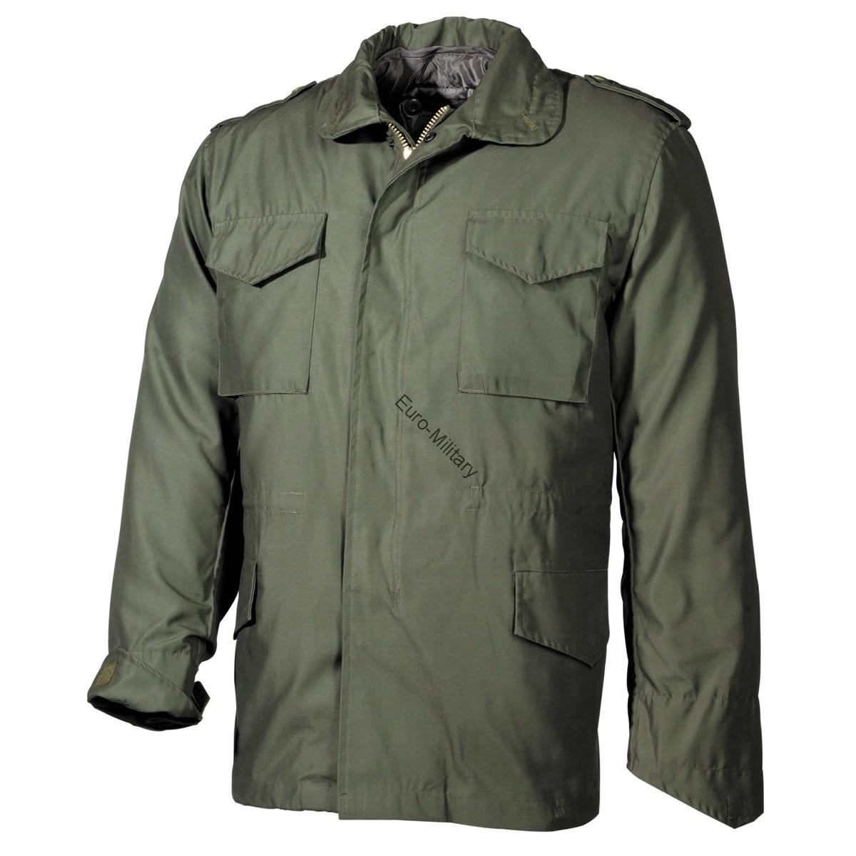 US Army M65 Field Jacket Lining Mod - OD Green