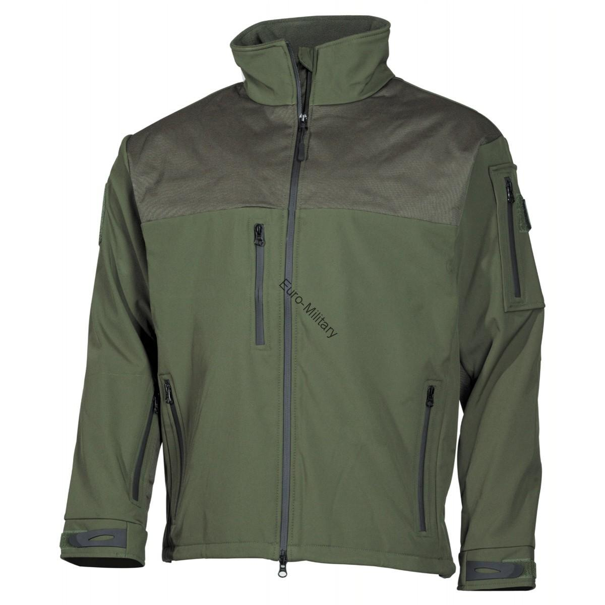 High Level Soft Shell Waterproof Jacket AUSTRALIA - OD Green