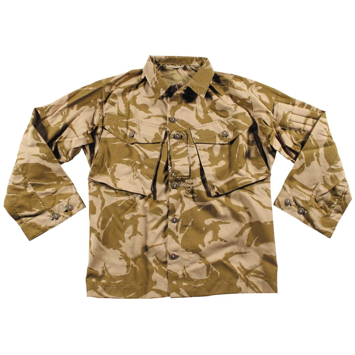 Original British Army Battle Jacket DPM Desert Camo Fire Resistant