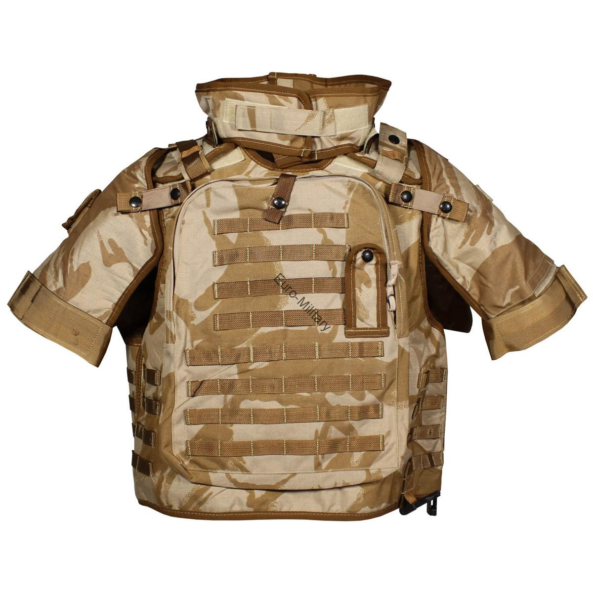 Original British Army DPM Desert Osprey Vest Body Armour MK II