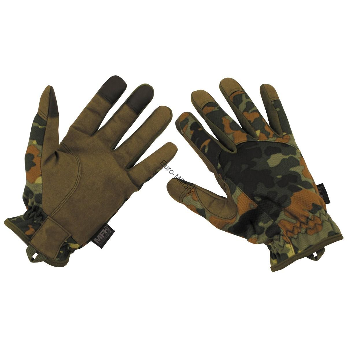 Professional Lightweight Tactical Military Gloves BW German Army Flectarn
