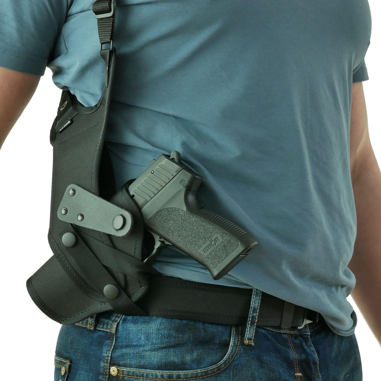 CZ Compact Size Thumb-Brake Shoulder Holster w/ One Shoulder Rig