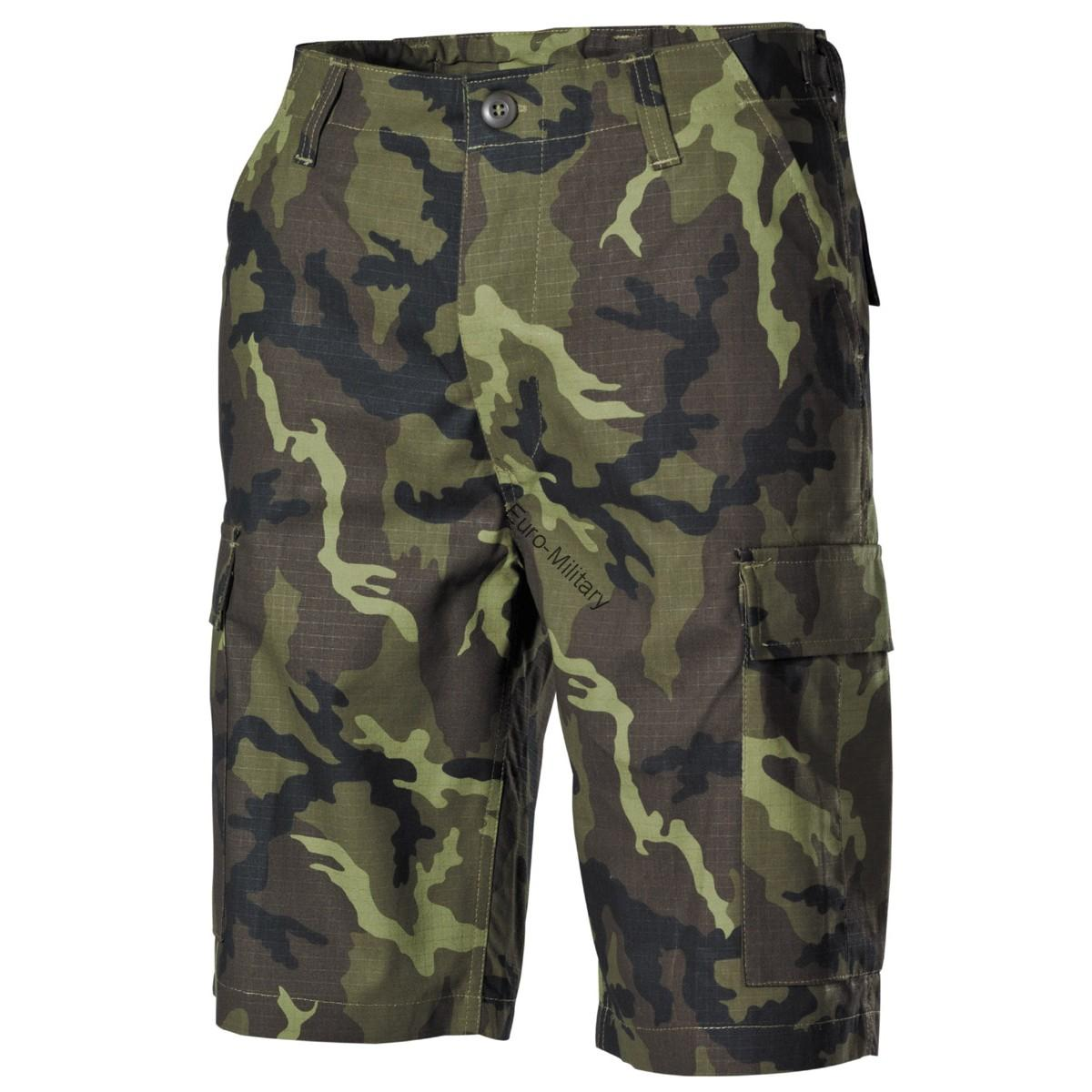 CZ Army M95 Camo Pattern Military Shorts - Rip-Stop