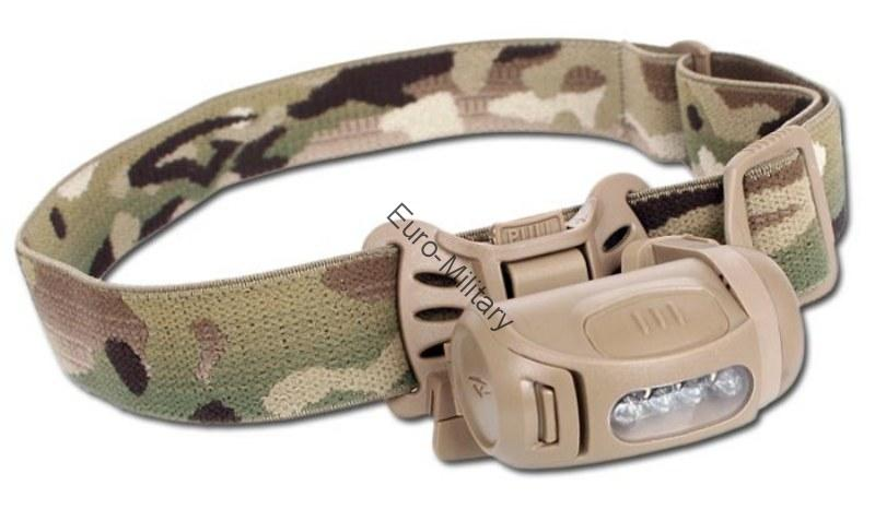 PRINCETON TEC® Professional Military Tactical Headlight FRED TAC MPLS - Multicam