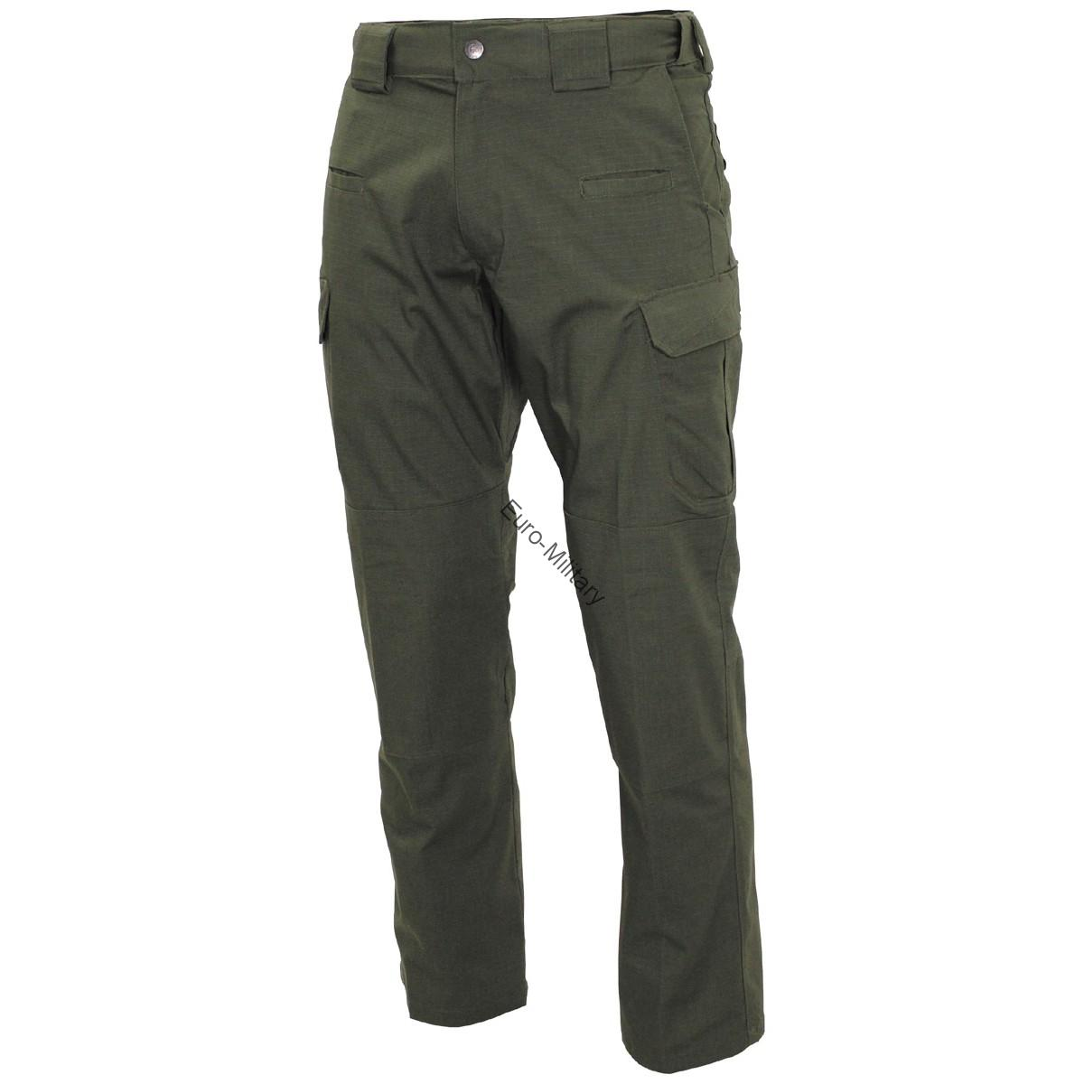MFH® Defense High Quality Mens Tactical Teflon Coated Rip Stop Pants - OD Green