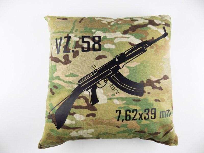 VZ58 SA58 High Quality Stylish Pillow Multicam Pattern - VZ58 7.62x39mm
