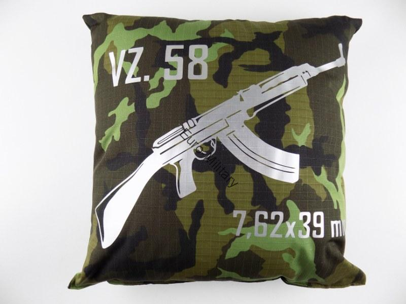 VZ58 SA58 High Quality Stylish Pillow M95 CZ Army Pattern - VZ58 7.62x39mm