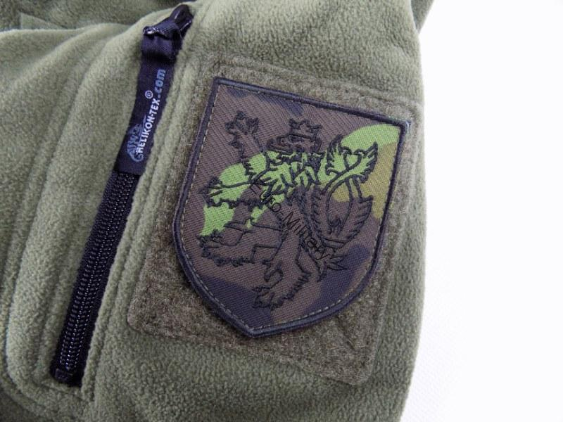 Czech Army Velcro Patch w/ Czech Lyon - CZ M95 Camo
