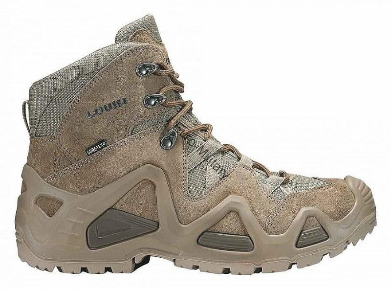 LOWA® Professional Tactical Military Outdoor Boots ZEPHYR GTX® MID TF-COYOTE