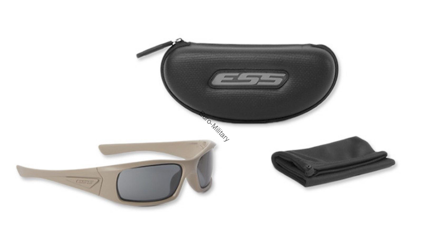 ESS® USA Professional Ballistic Z87.1 Shooting Glasses 5B™  - Tan