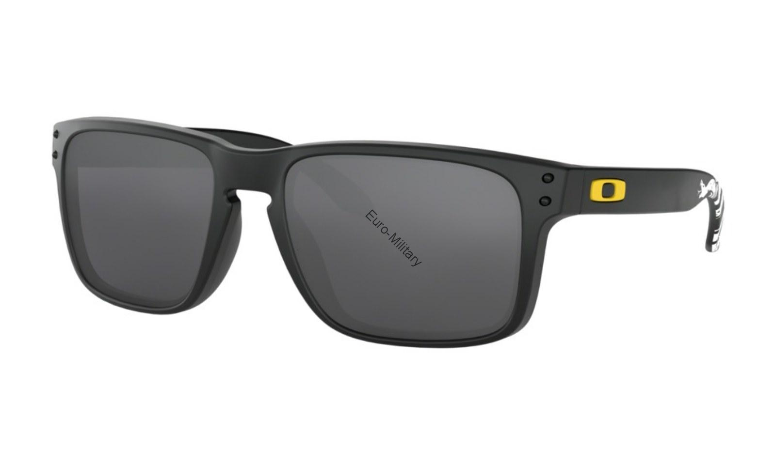 Oakley® SI Ballistic Shooting Glasses HOLBROOK Gadsen Dark Grey - Black Iridium