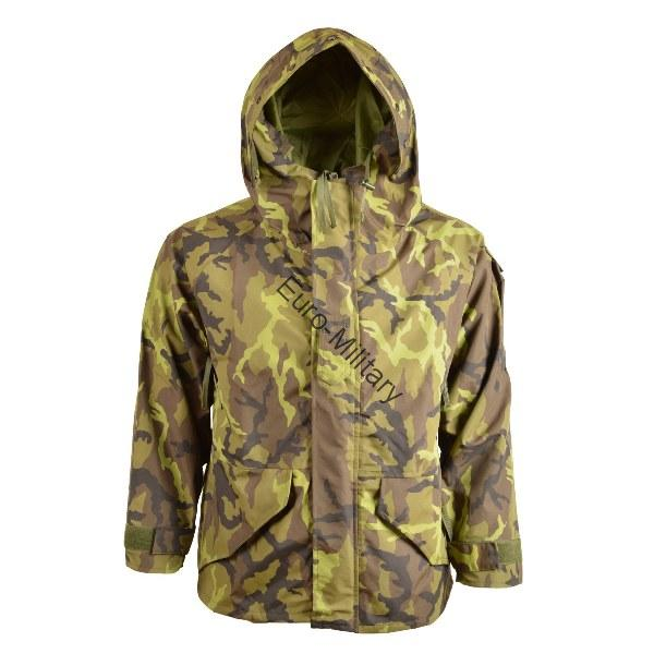 Czech Army M95 CZ Camo Pattern US MT+ Waterproof Windproof Jacket w/ Hood