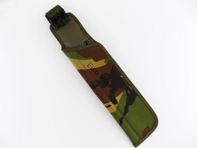 Original British Army DPM Camo Pattern Sheath Frog for SA80 Attack Knife